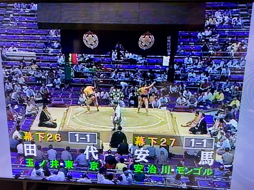 大相撲7月場所開催